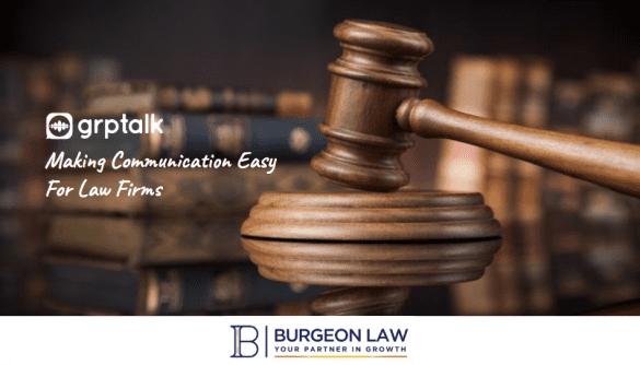 Burgeon Law Case Study