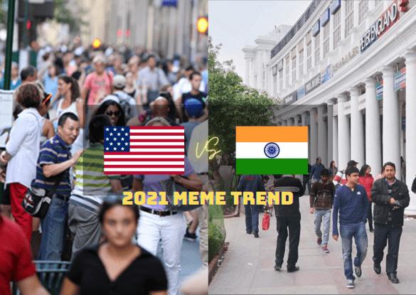 US Vs India Meme